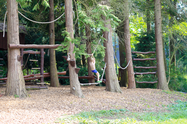One of the coolest playgrounds for tots and kids alike at the Knuthenborg Safari Park in Denmark, an easy day trip from Copenhagen .