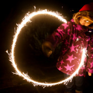 In Denmark, everyone launches their own fireworks on New Year's Eve - literally. Even the youngest take part - don't forget those safety goggles!