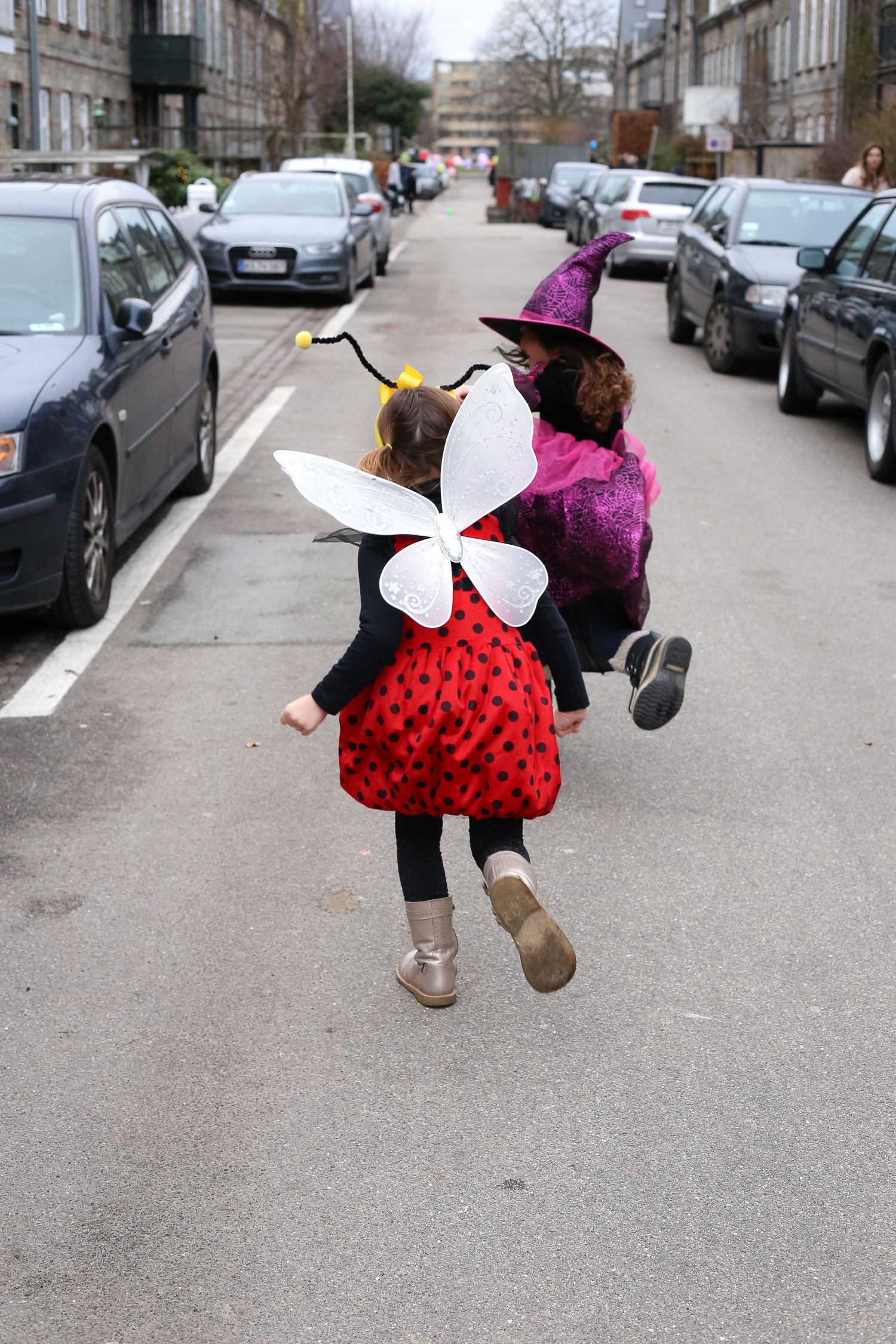 Celebrating Fastelavn, the equivalent tradition of carnival meets halloween meets Mardi Gras in Denmark