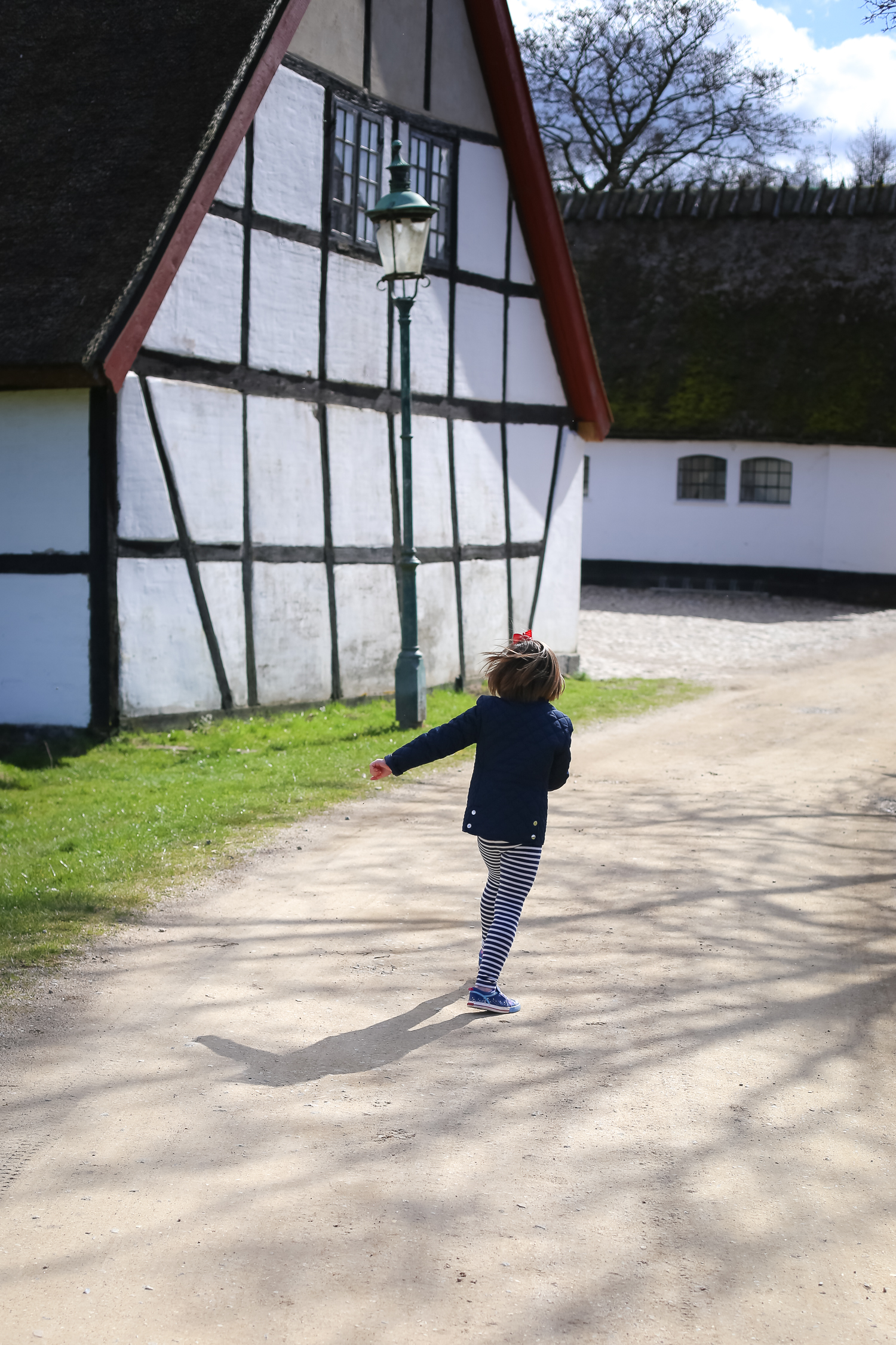 A day trip outside of Copenhagen, Denmark to Esrum Abbey, perfect for adults and toddlers alike.