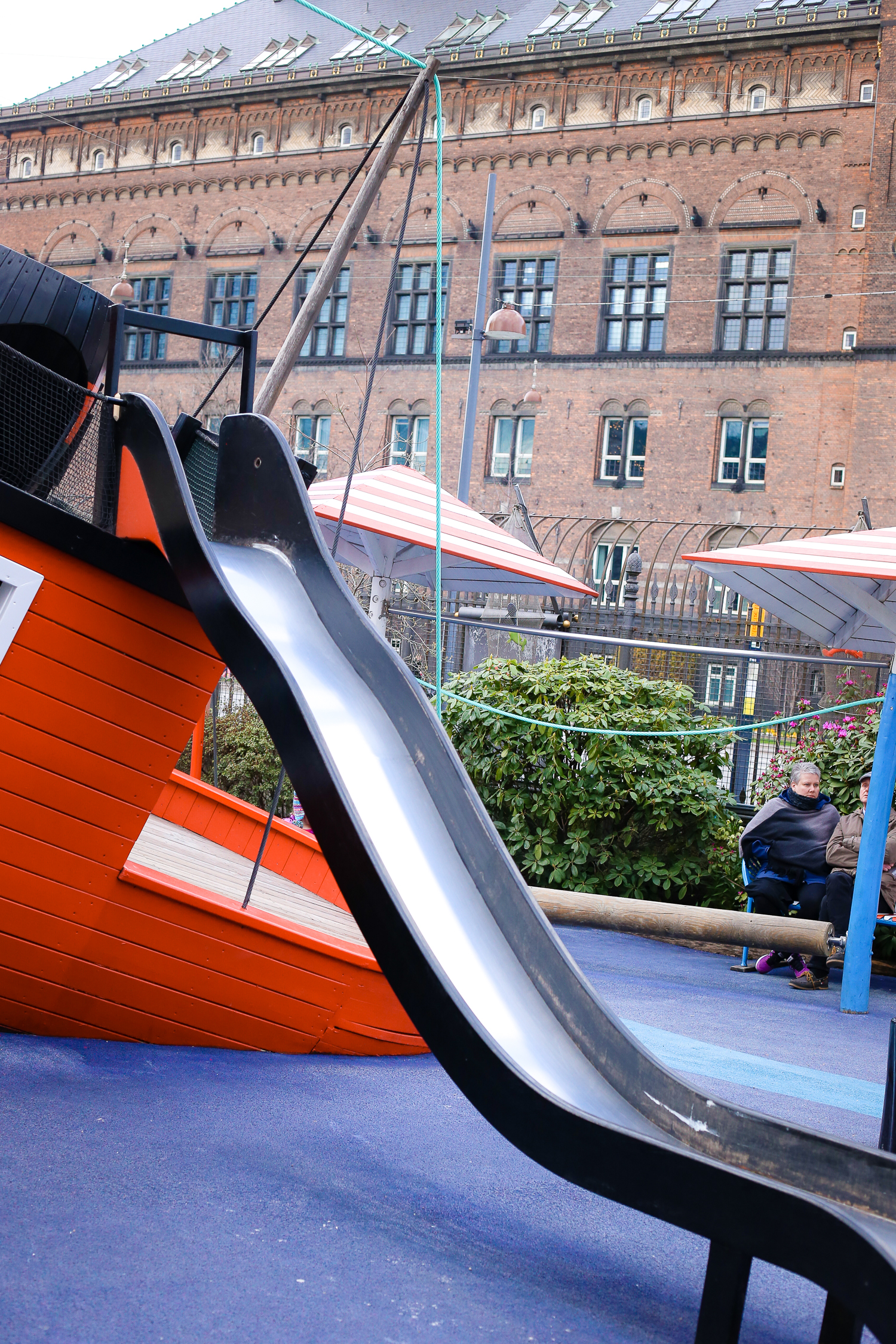 Don't miss out on taking your kids to the children's playground at Tivoli Gardens in Copenhagen, Denmark - it's full of surprises!