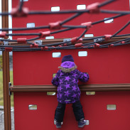 Exploring playgrounds, trolls, and a forest hike with toddlers and children in Bergen, Norway