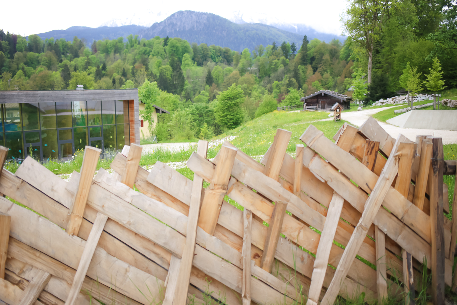 A nature-based playground and environmental center in the alps of Salzburg, Austria.